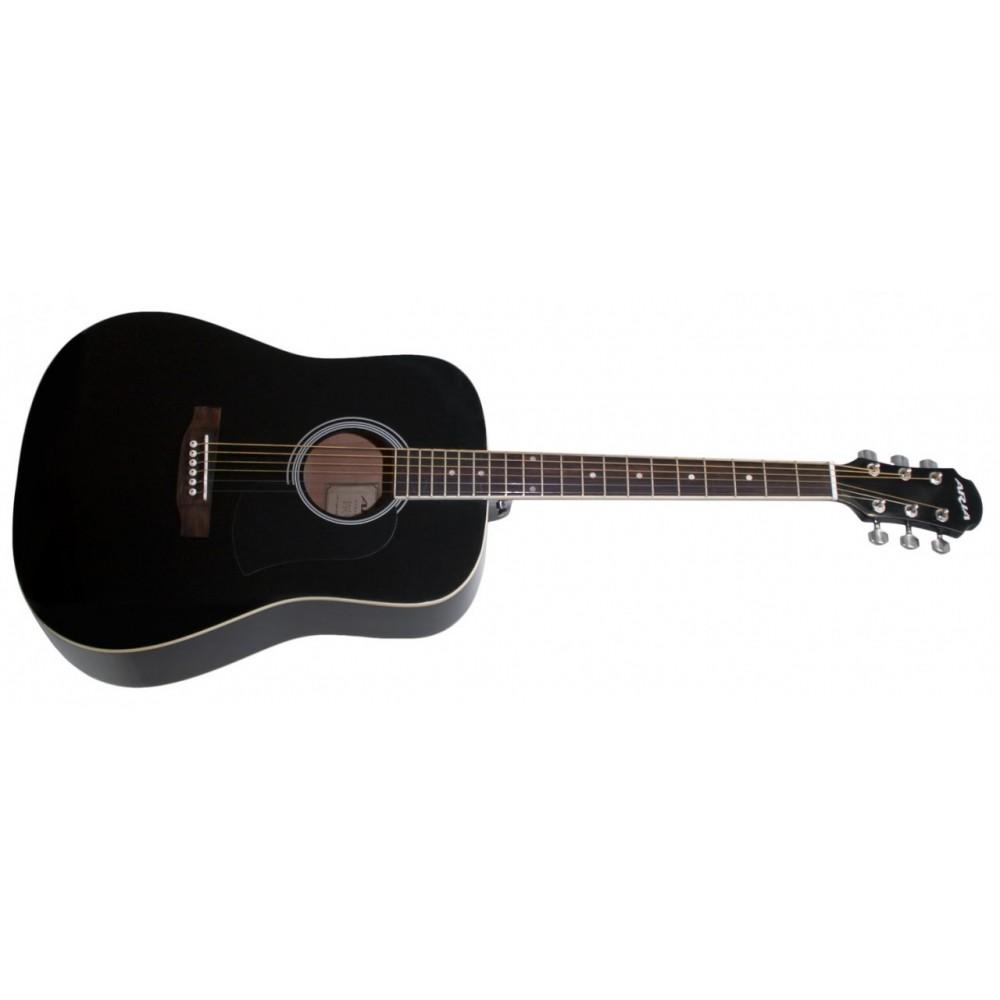 Aria AWN15BK Acoustic Guitar