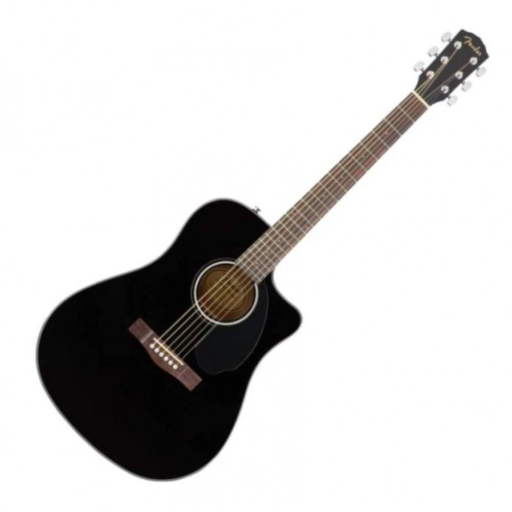 Fender CD60SCE Acoustic Electric Guitar Black