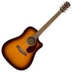 Fender CD140SCE Acoustic Electric Guitar Sunburst w/ case