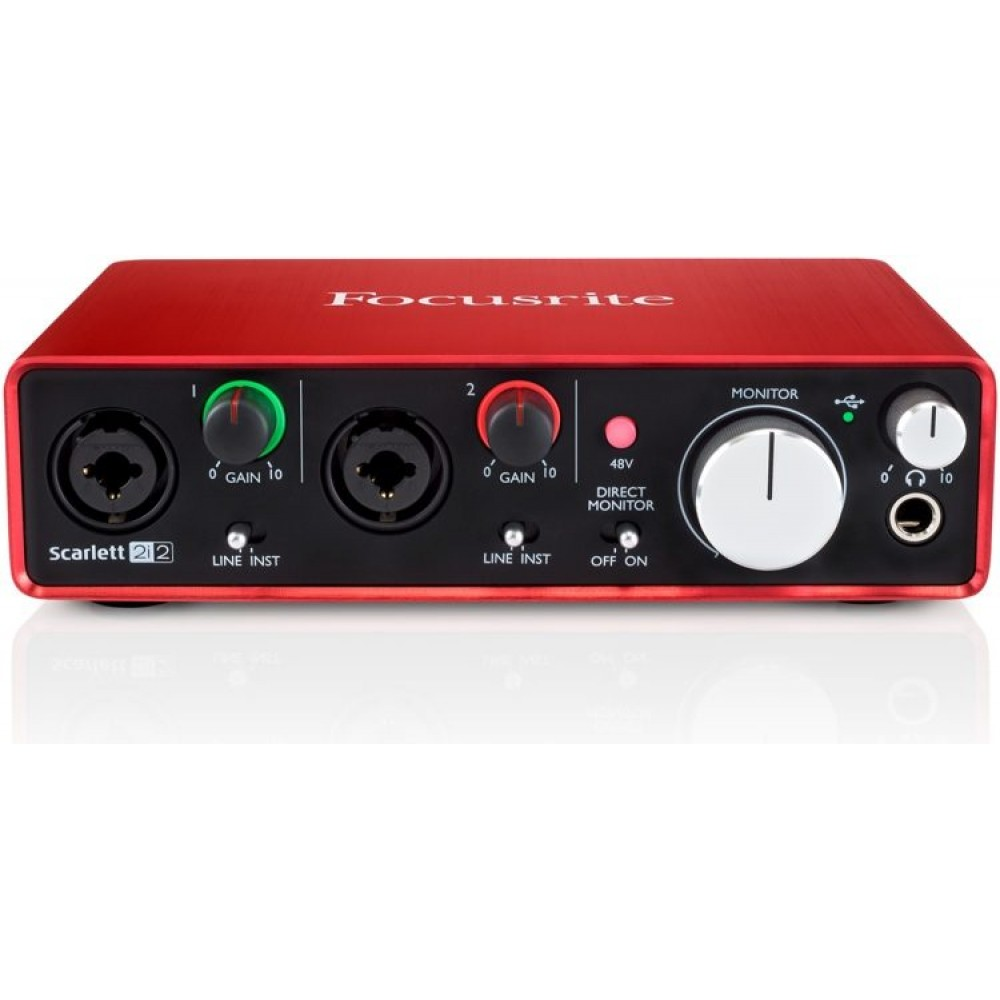 Focusrite SCARLETT2I2 Audio Interface
