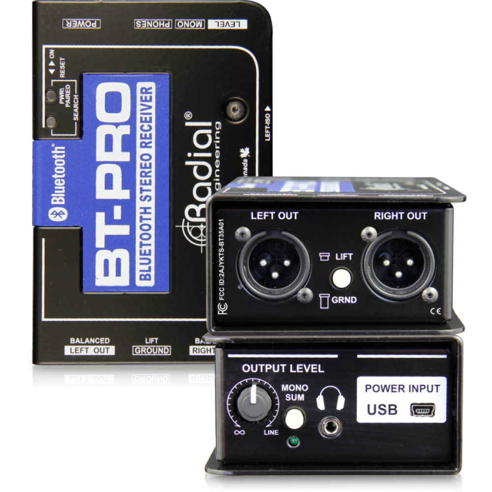 Radial BT-Pro Bluetooth Direct Box